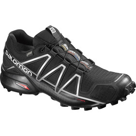 Salomon Speedcross 4 GTX Kengät Miehet, black/black/silver metallic-x